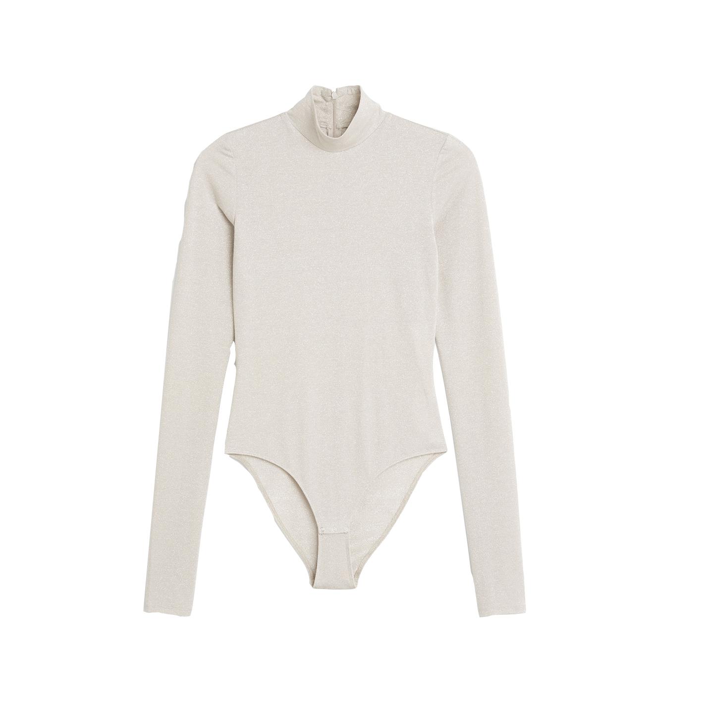 Limited Edition Glitter Bodysuit, £15, Monki