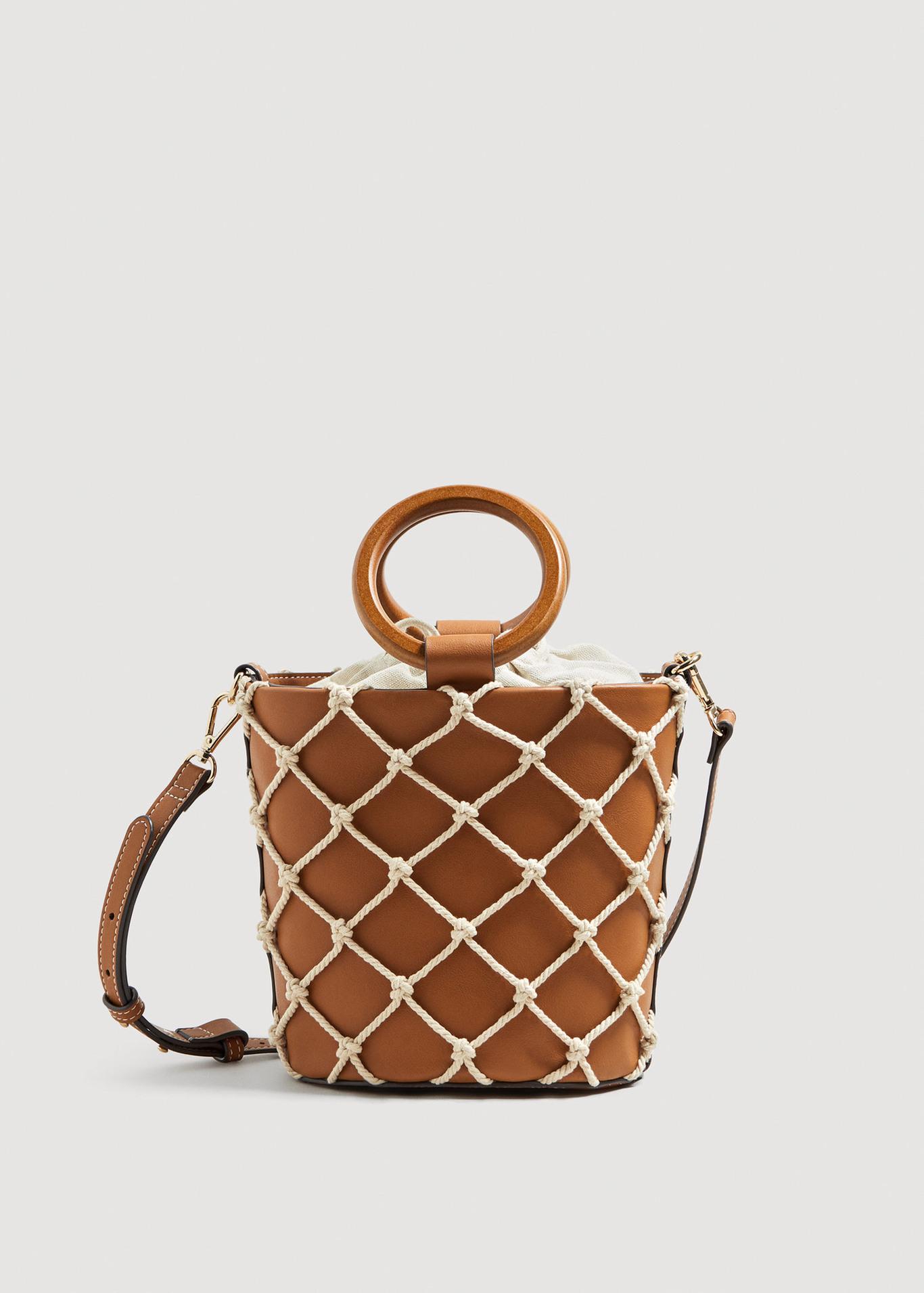 Net Tote Bag - £49.99 at Mango