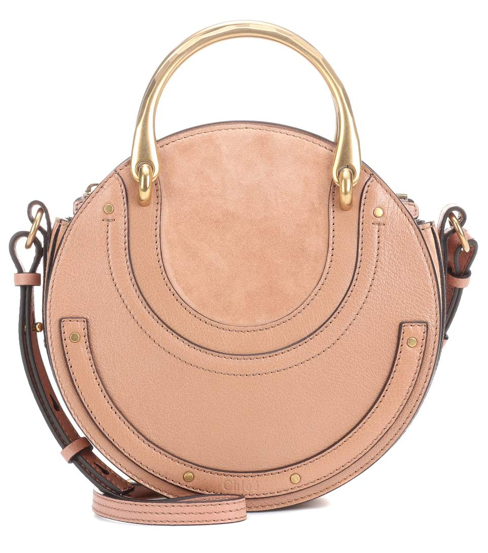 Chloe Pixie Leather and Suede Bag - £1055 at MyTheresa