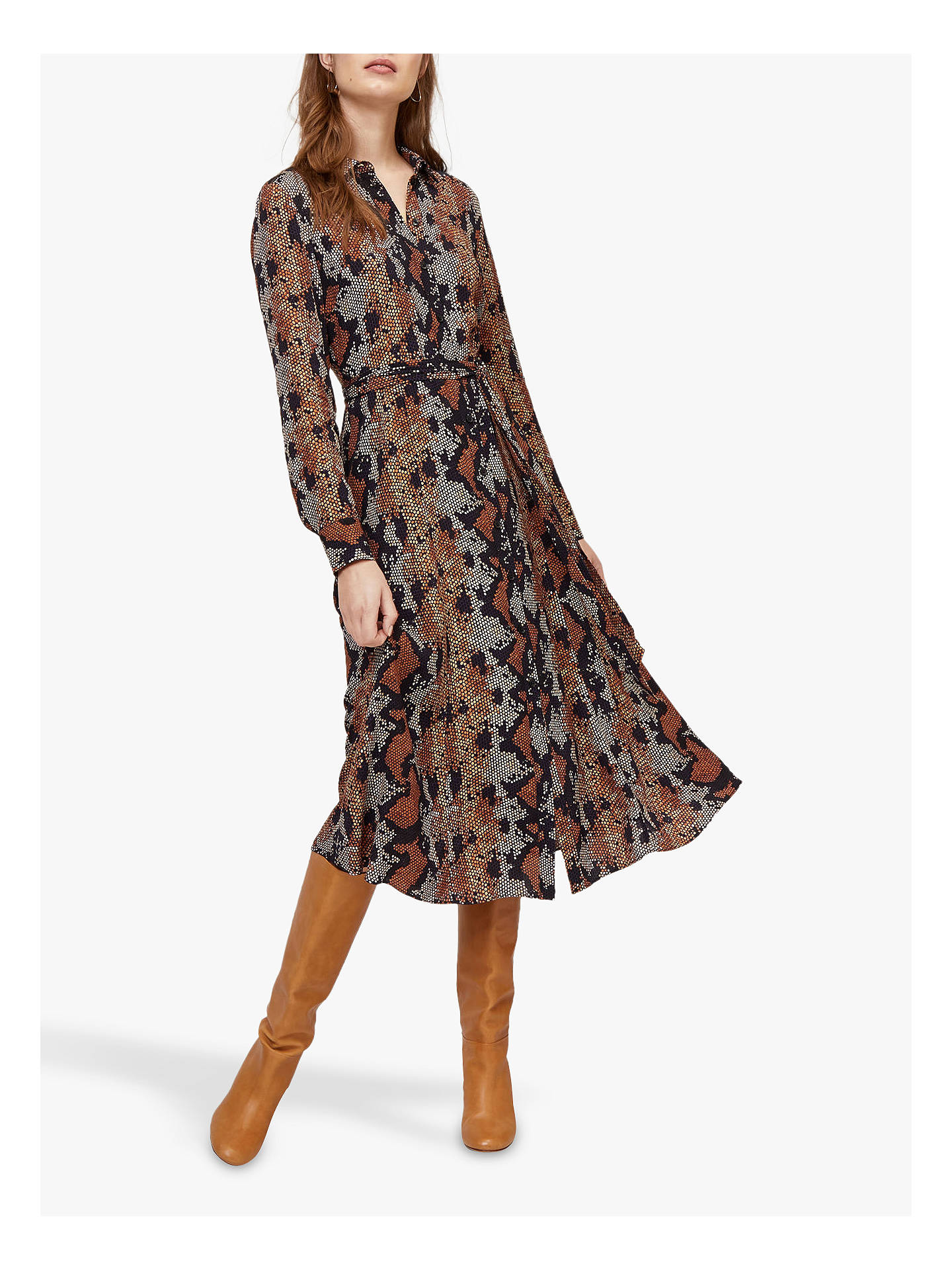Warehouse Snake Print Dress - £52 at John LewisThis snake print dress is slightly more colourful, but still relatively low-key. (Side note: Warehouse are really nailing their collections recently.)