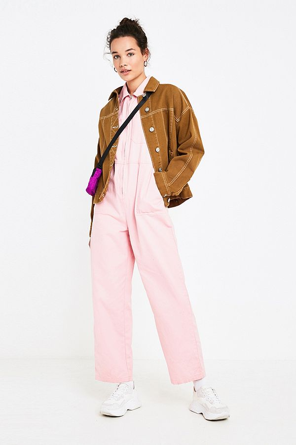 UO Rosie Pink Utility Boiler Suit - As you can see here, my boiler suit is actually a more washed out pastel pink than it looks like in my shoot above. I can vouch that this beauty is utterly comfy, but it might be worth getting a slightly smaller size because mine was sadly a little bigger than I hoped it would be.£79, available at Urban Outfitters