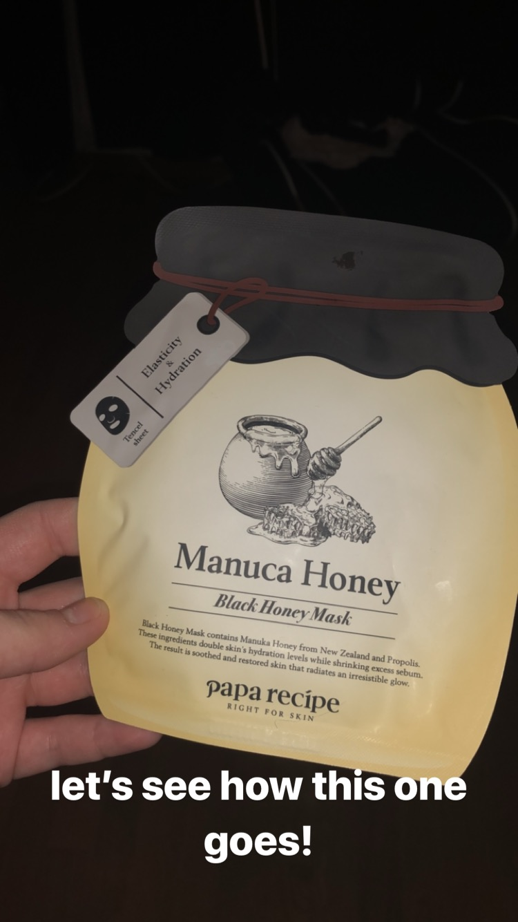 Papa Recipe   Manuca Honey Black Honey Mask