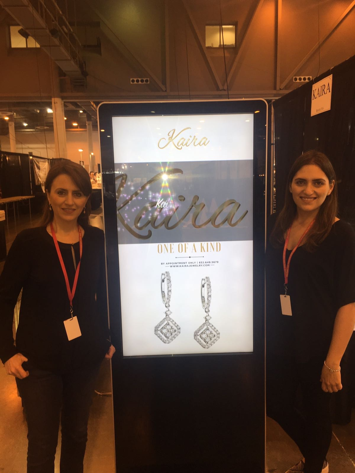 KAIRA TEAM AT THE INTERGEM AND JEWELRY SHOW, APRIL 2017.