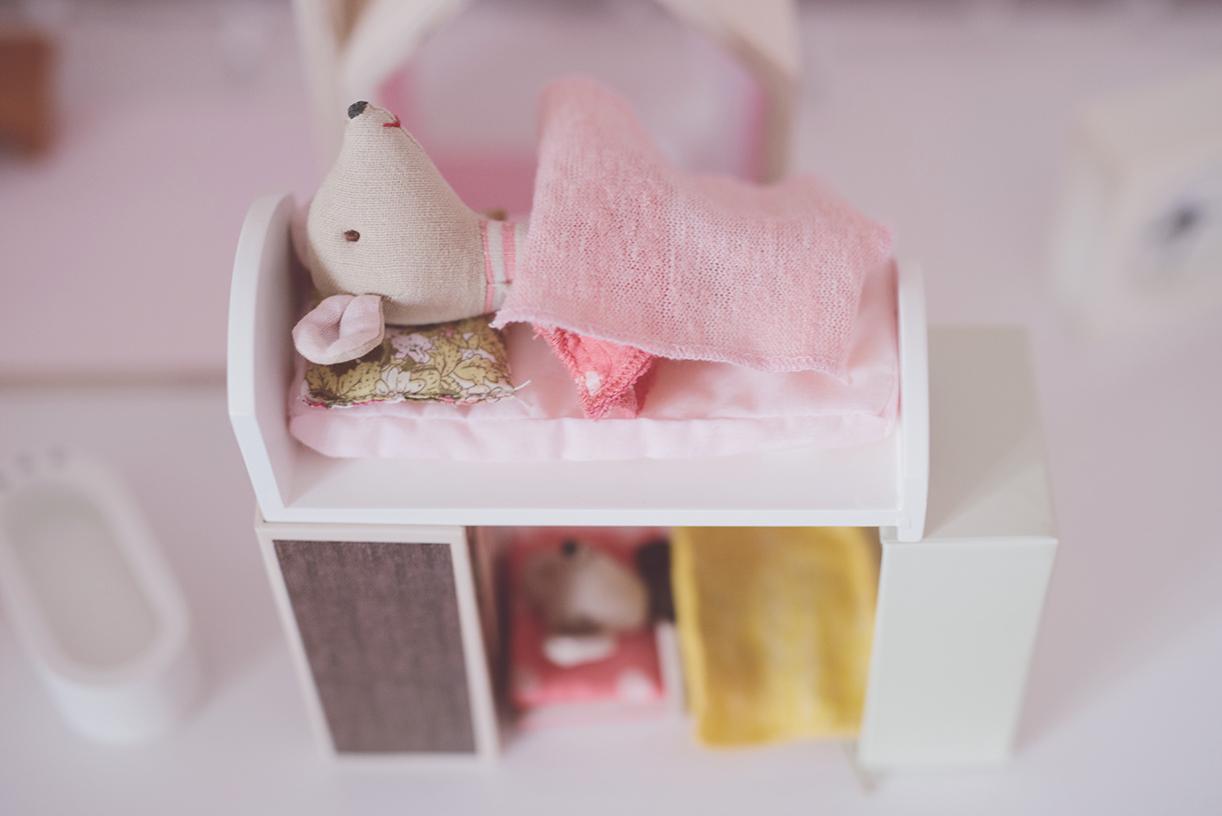 Péa les maisons. Lits superposés pour petites souris