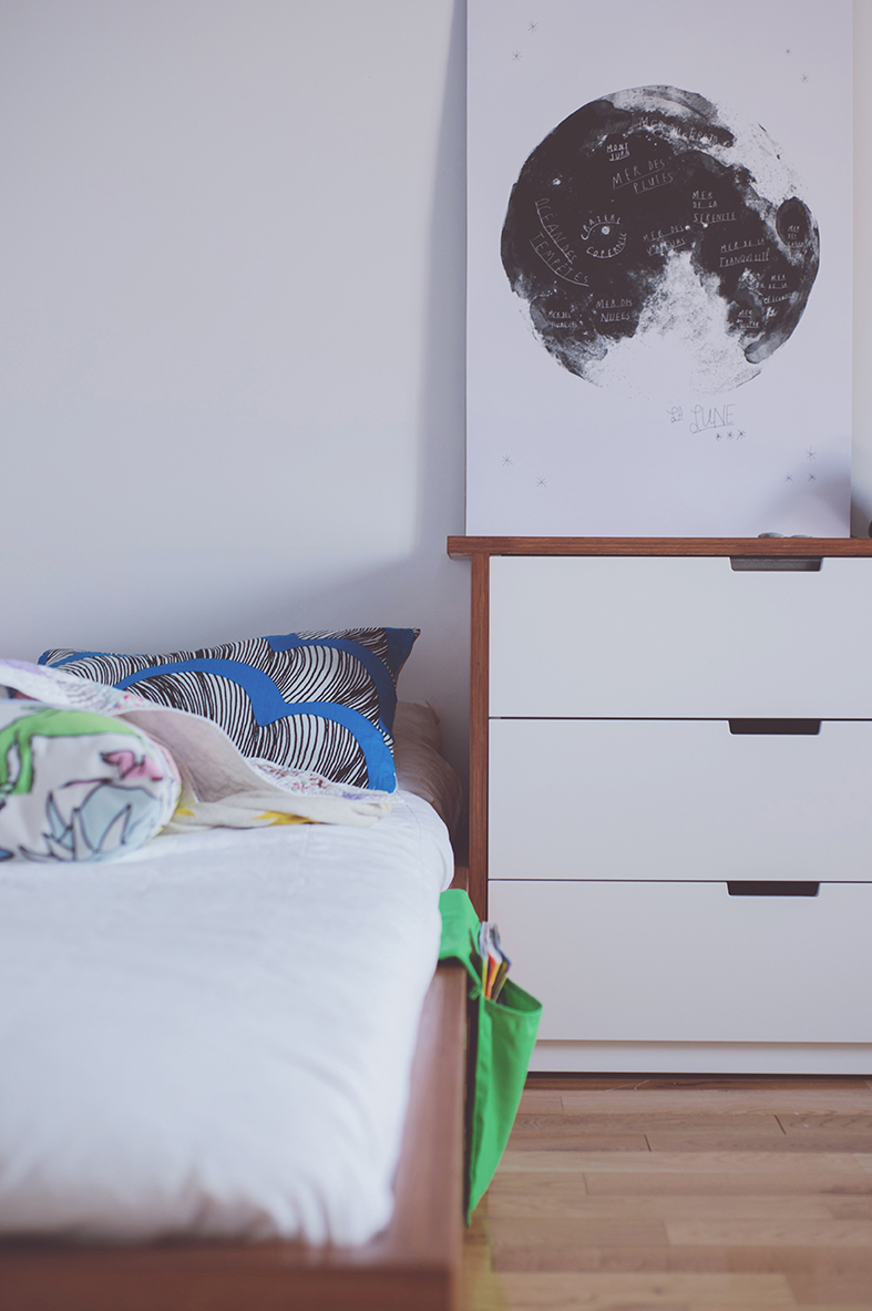 Péa les maisons. Decoration and design for teenage boy bedrooms with a space thematic