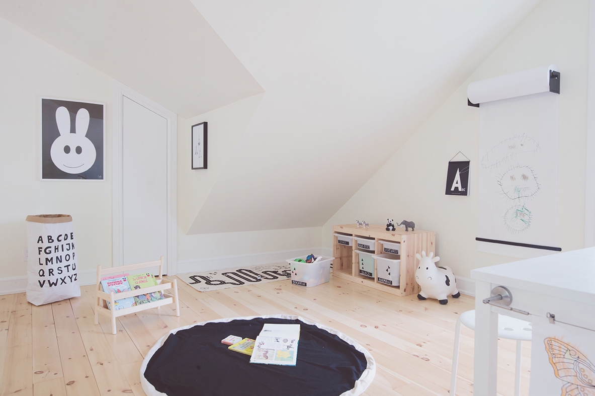 Péa les maisons. Interior decoration for kid's bedrooms and playrooms