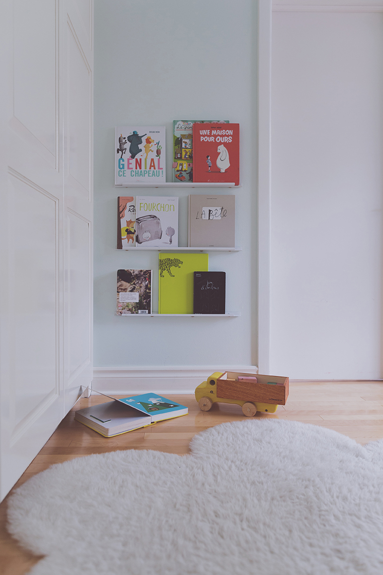 Péa les maisons. Reading corner for kids