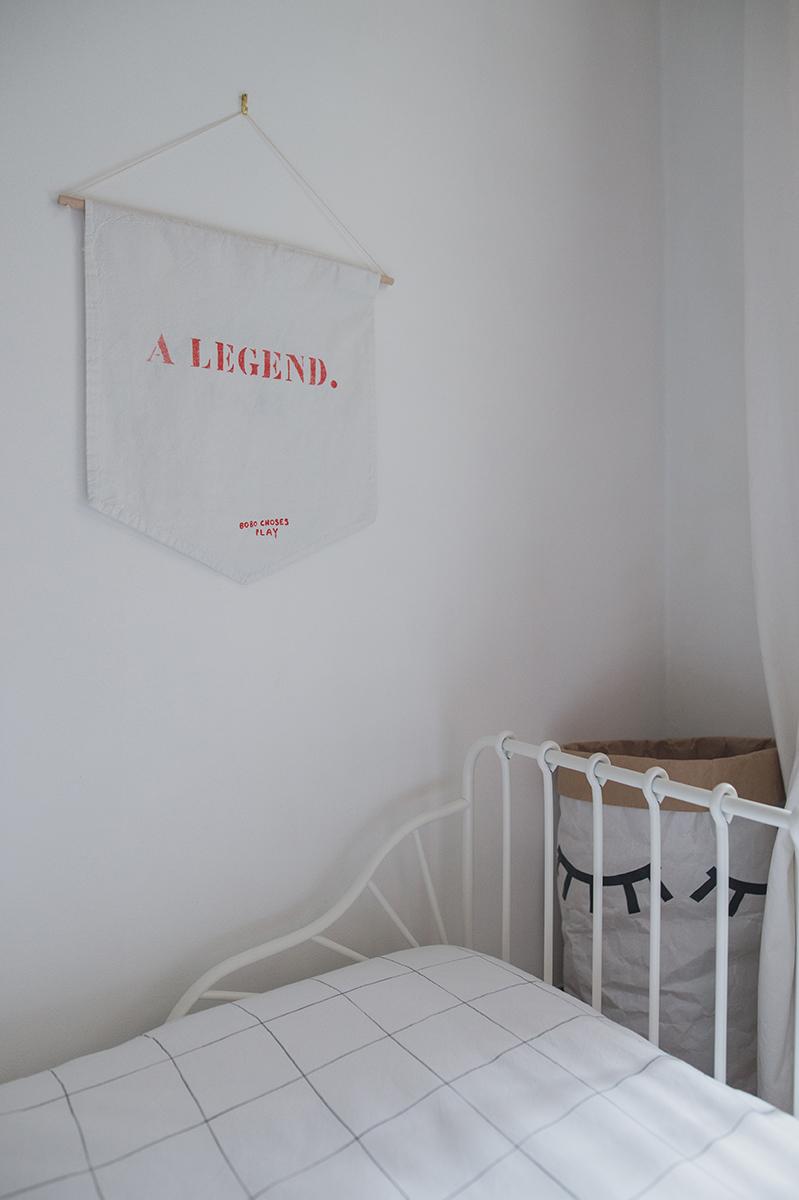 Péa les maisons. Chambre minimaliste pour petites filles