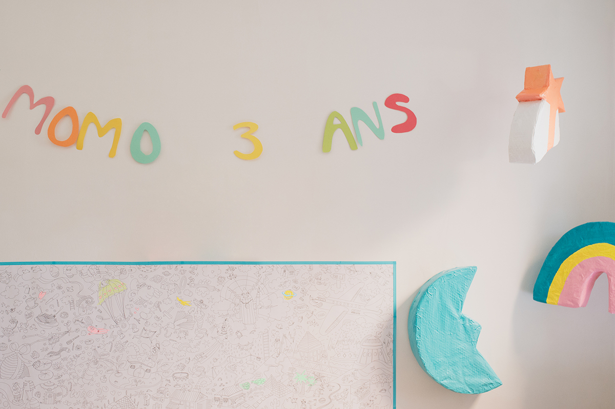 Péa les maisons. How to host the most stunning birthday party for a three years old girl