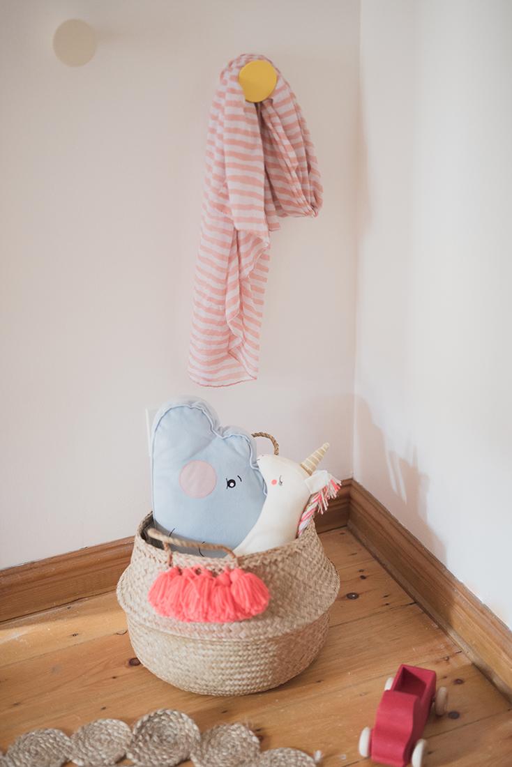 Péa les maisons. Aesthetic storage solutions for children's rooms