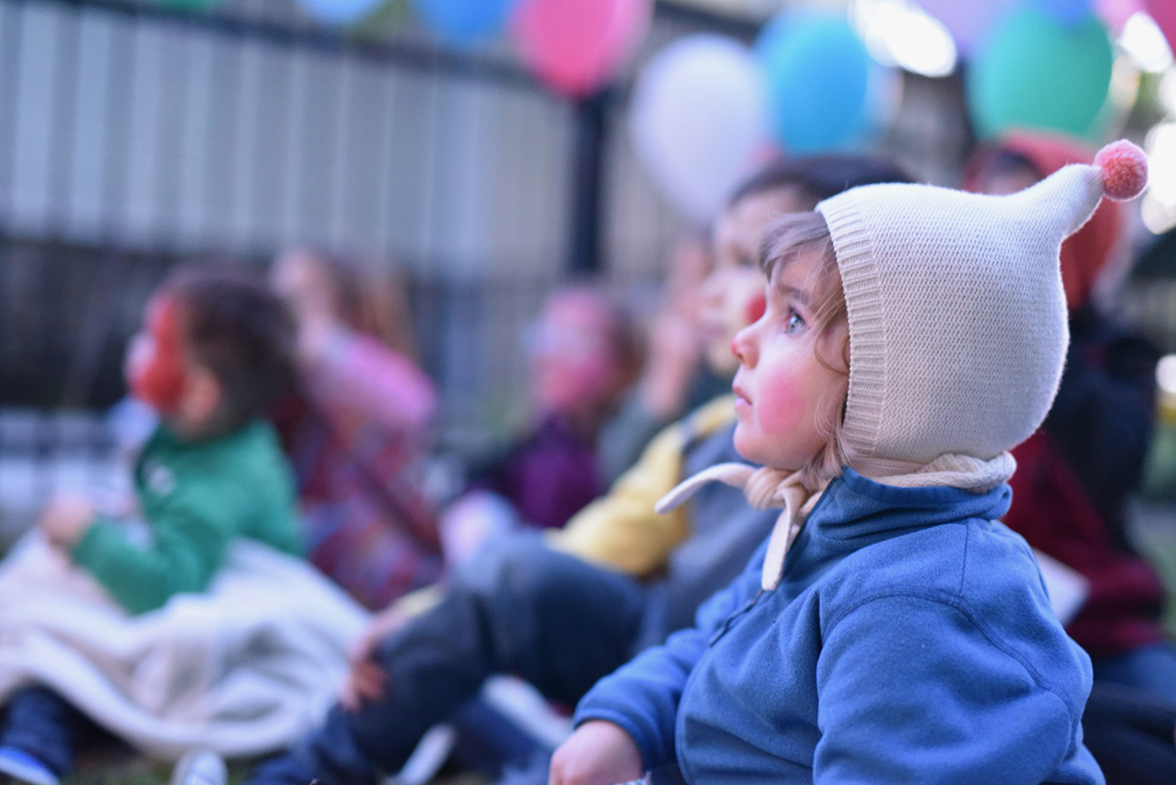Péa les maisons. Outdoor film screening for a perfect birthday party