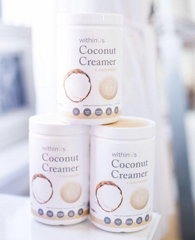 COCONUT CREAMER + COLLAGEN  -