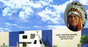 the Chief Denton George Multiplex is partner with Ochapowace Sports Academy