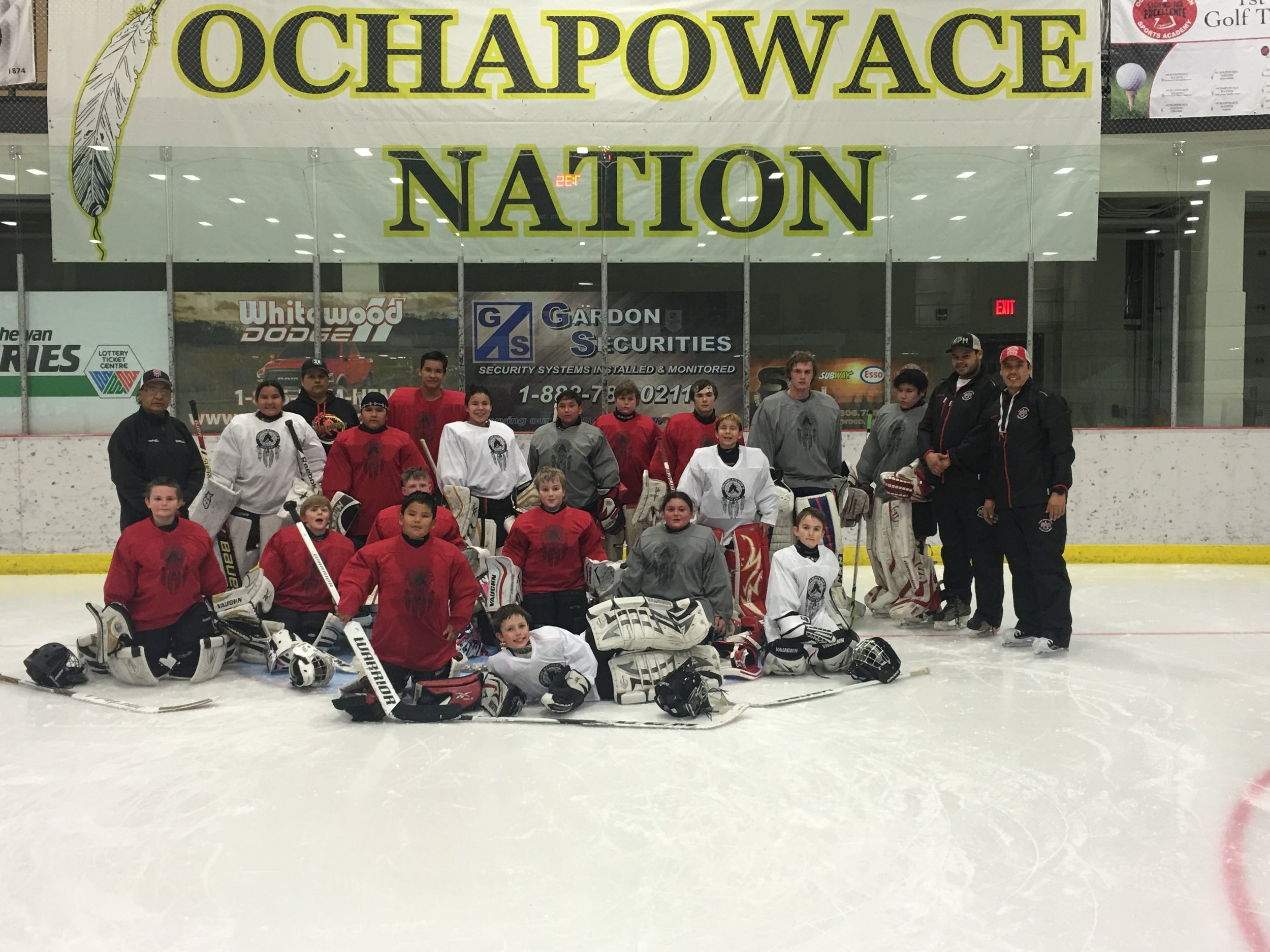 Sports Academy goaltenders camp