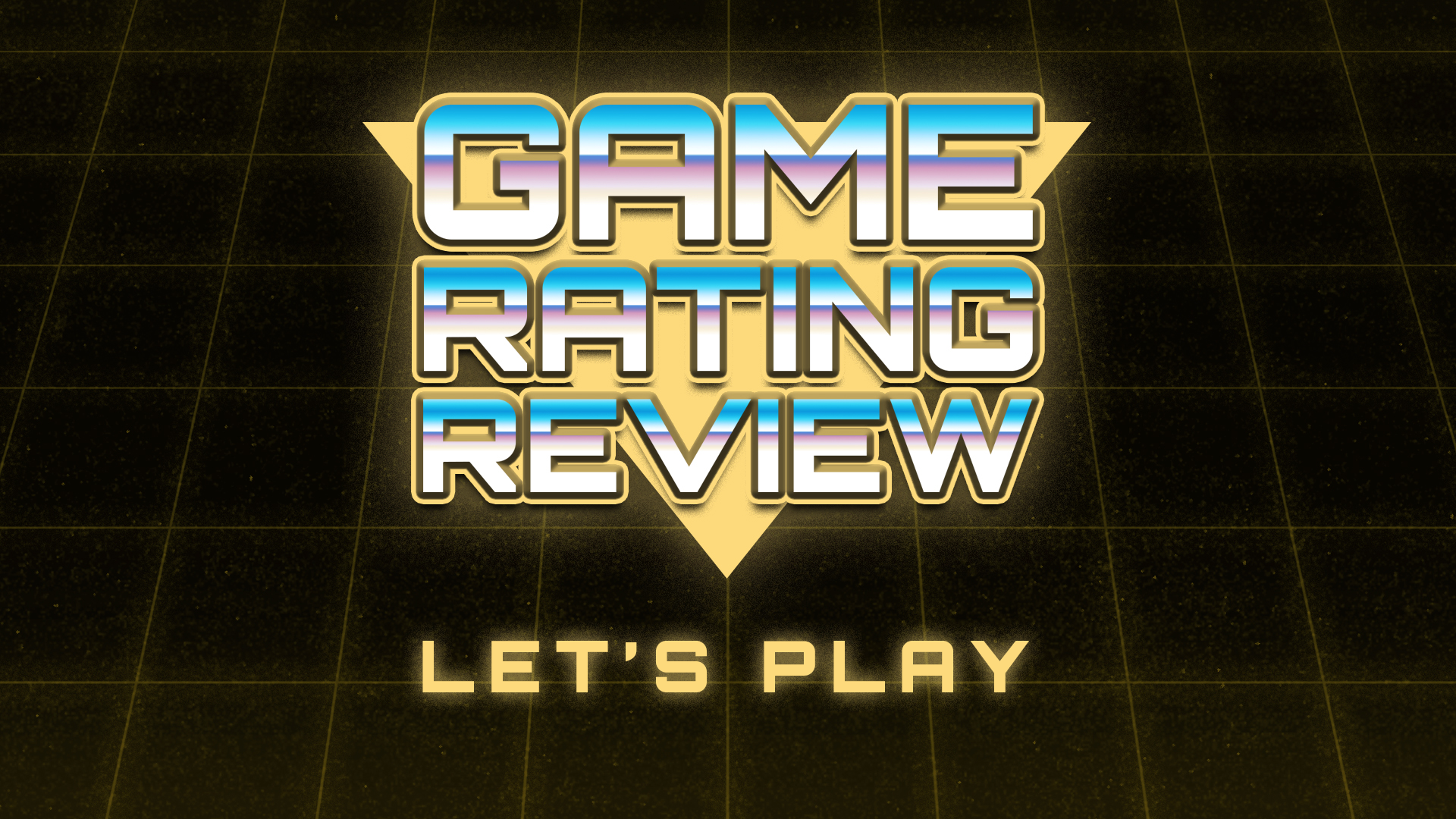 Game Rating Review Let's Plays