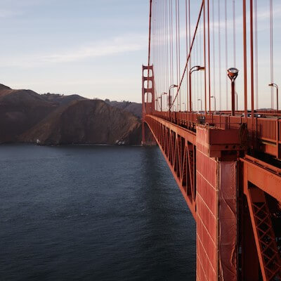A walk over the Golden Gate Bridge