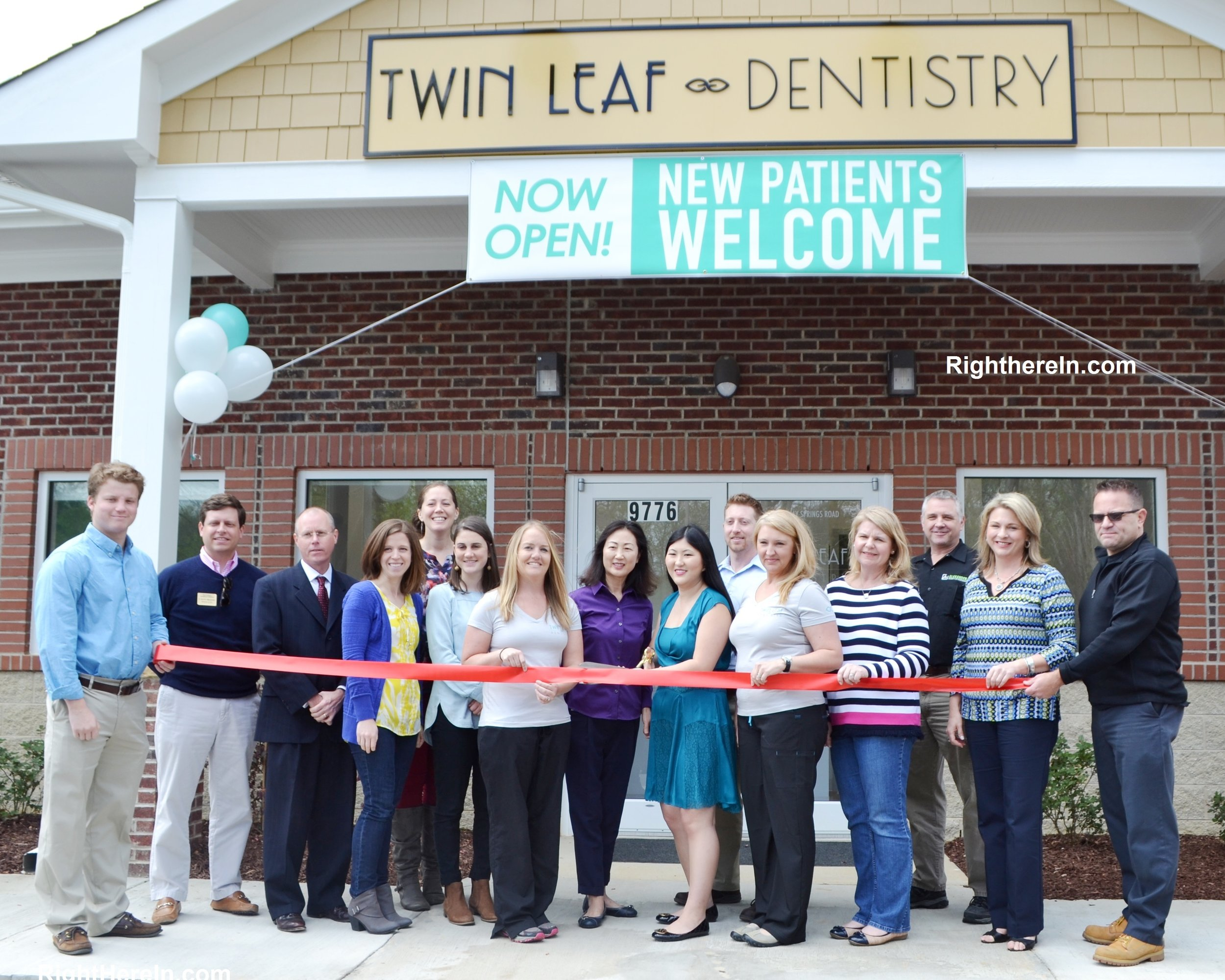 Grand opening! - We had our grand opening in February; members of the Holly Springs Chamber of Commerce came to welcome the town's newest dental office and watch us cut our ribbon. You can check out the story by clicking below!
