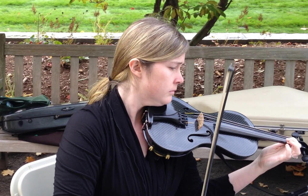 Meghan O'Connor, violin