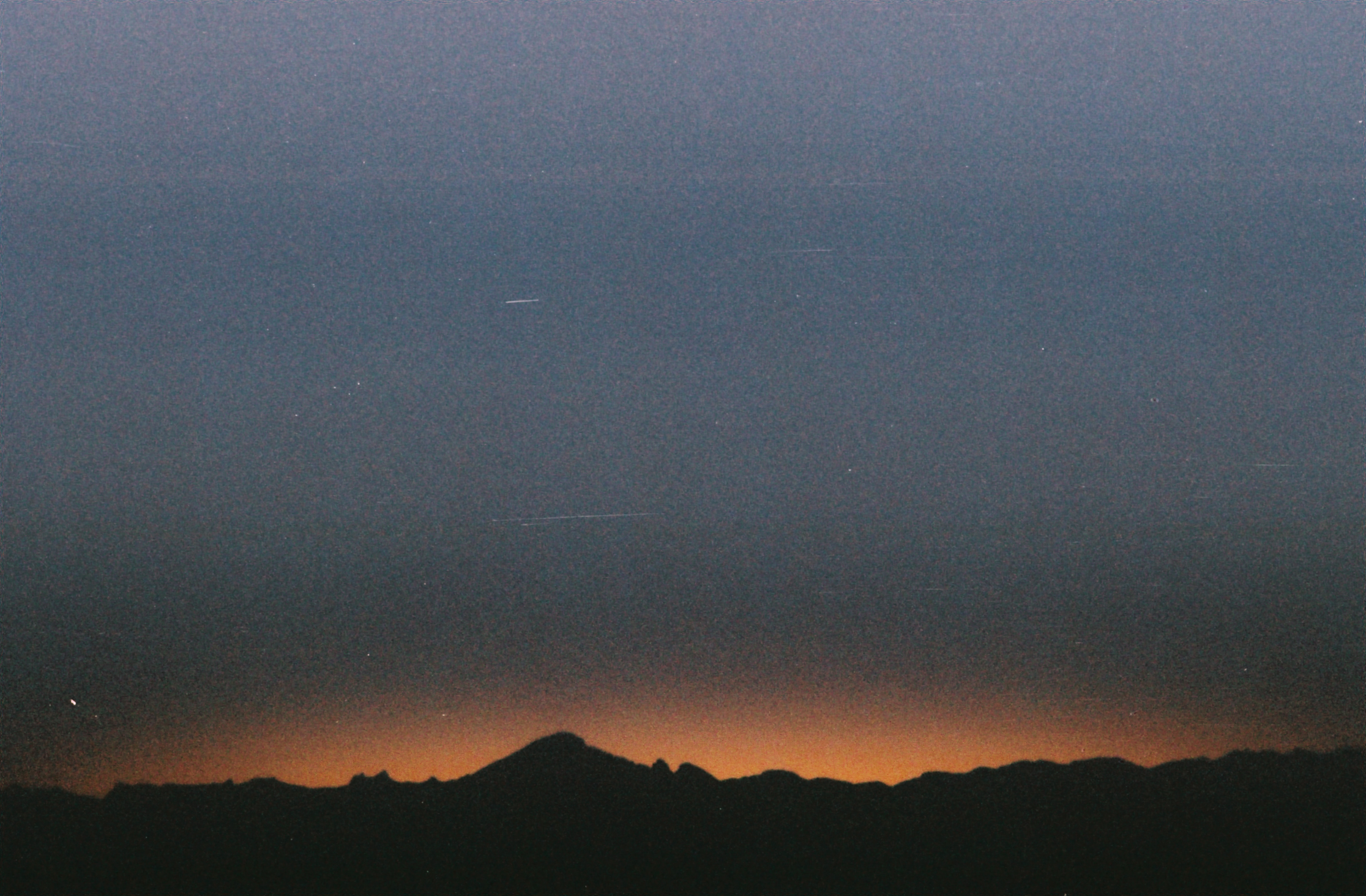 Sunrise from Half Dome Summit • 35mm •2016