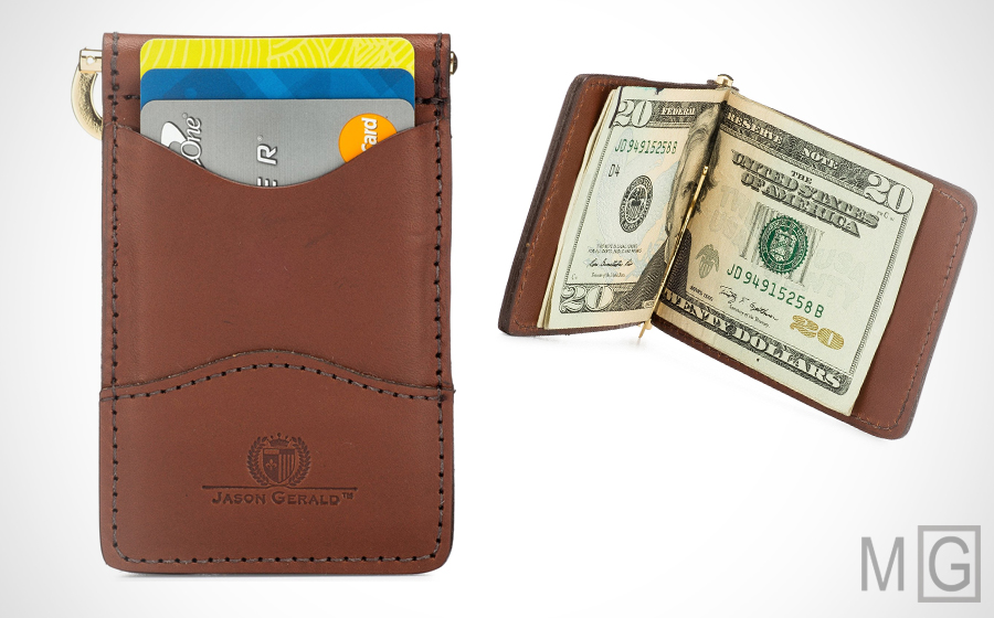 Jason Gerald Money Clip Wallet