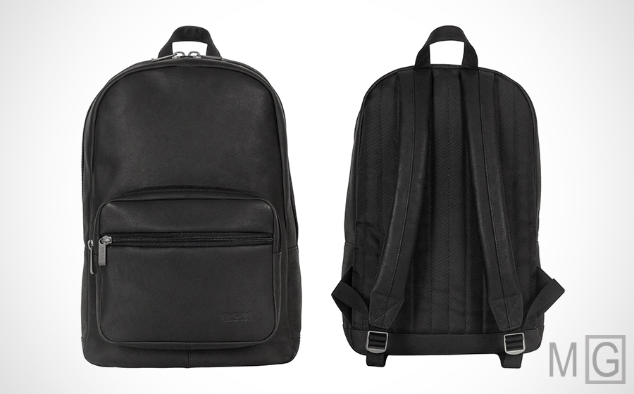 Kenneth Cole Reaction 'Ahead of the Pack' Leather Backpack