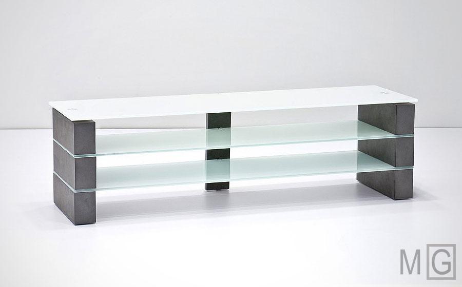 Olivia Concrete TV Stand - cheap modern tv stands - minimalistguy.net