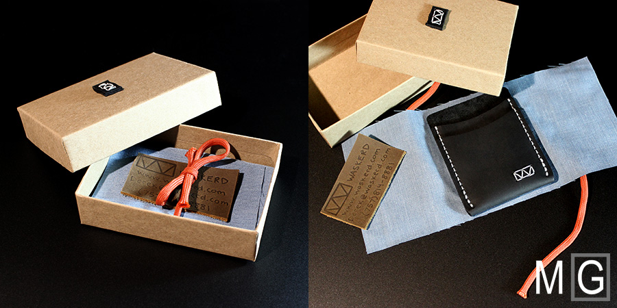 The Waskerd Strayer arrives in a special gift box.
