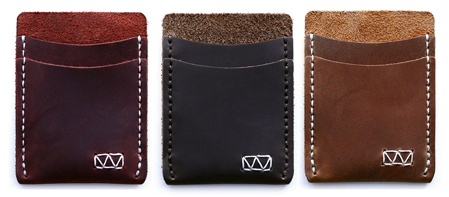 Available in multiple leather finishes.