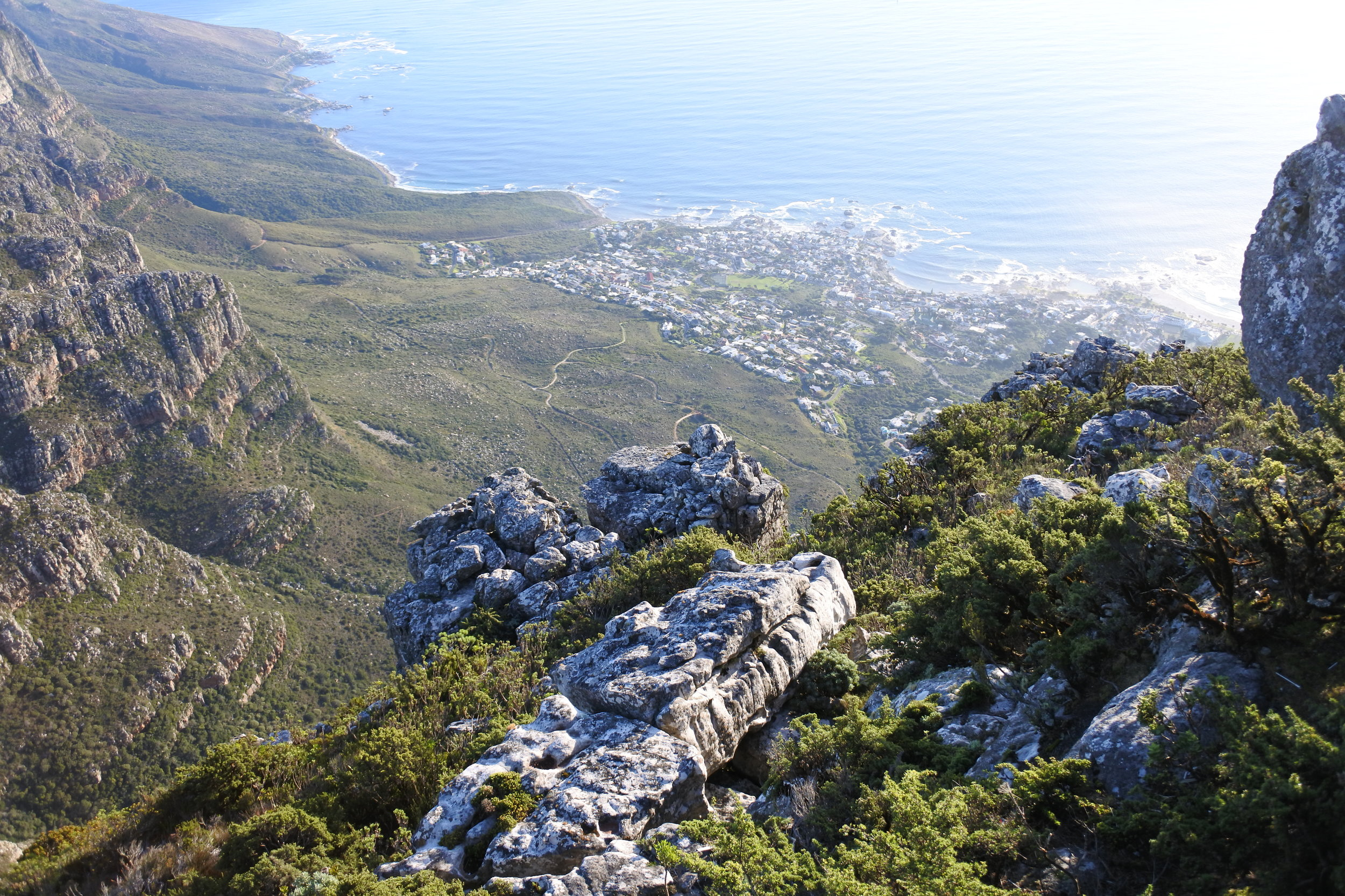 Hiking the Table Mountain