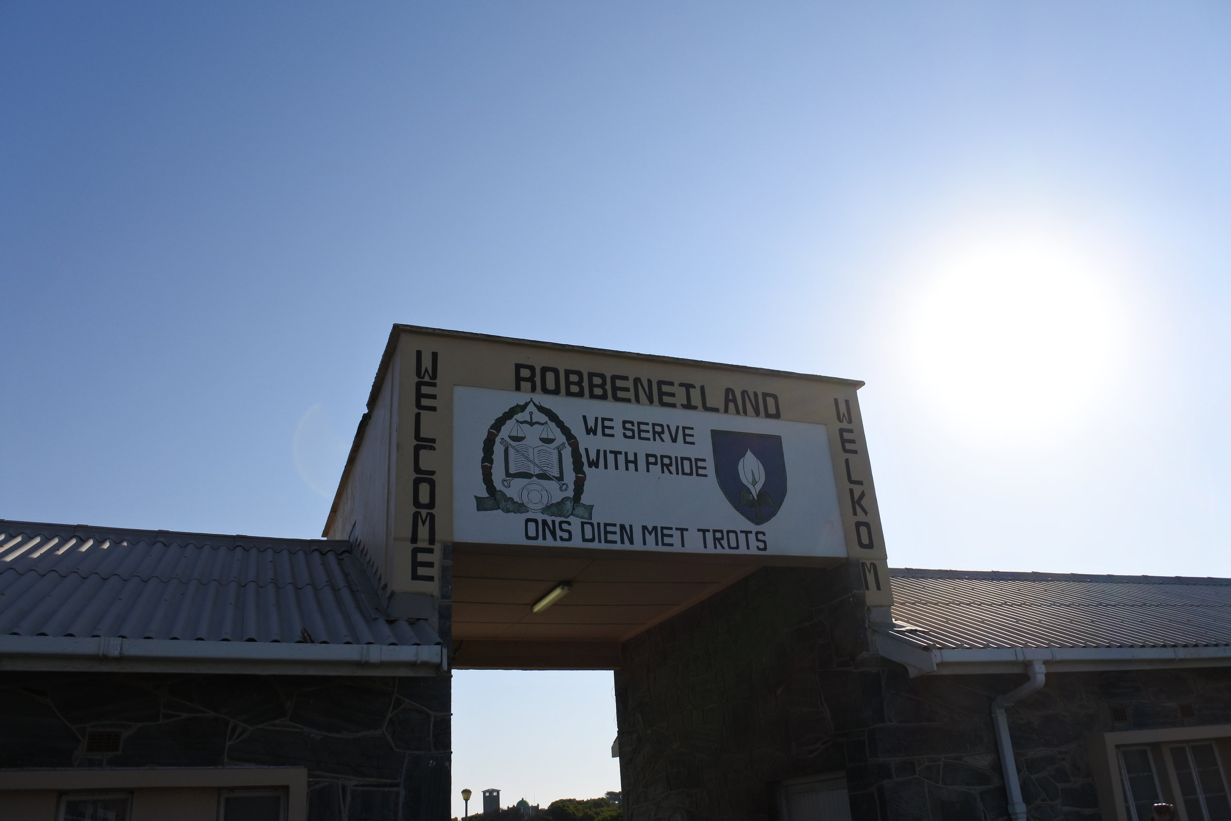 The Entrance at Robbeneiland