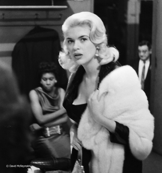 Actress Jane Mansfield.
