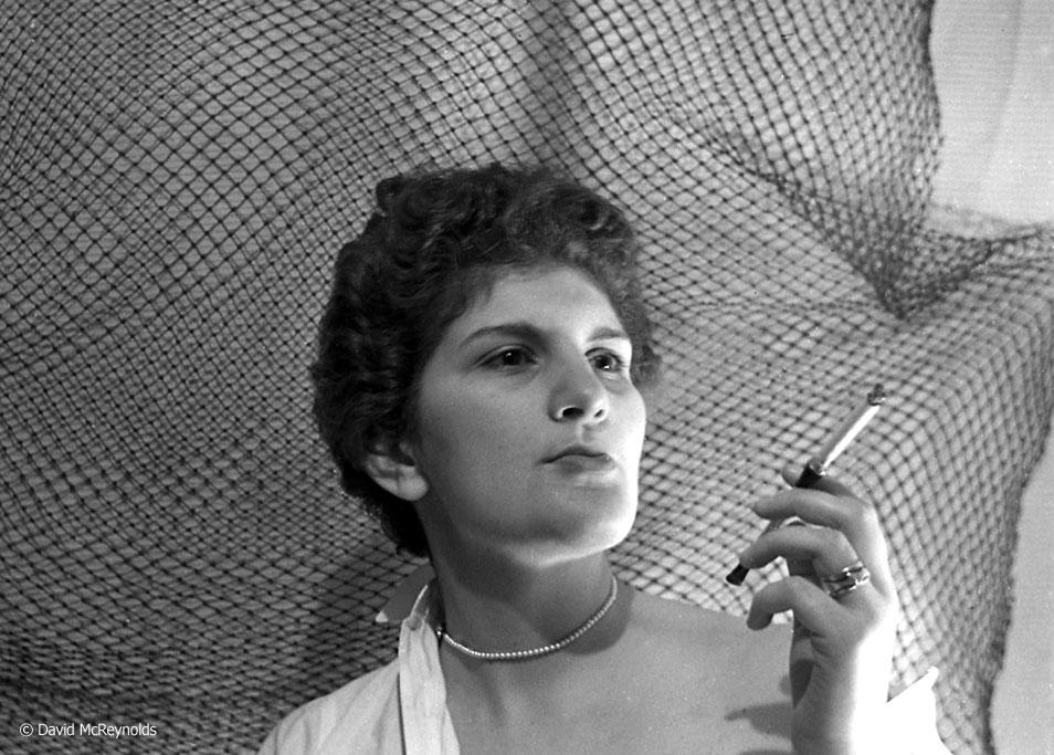 Phyllis Gangel, January 1954