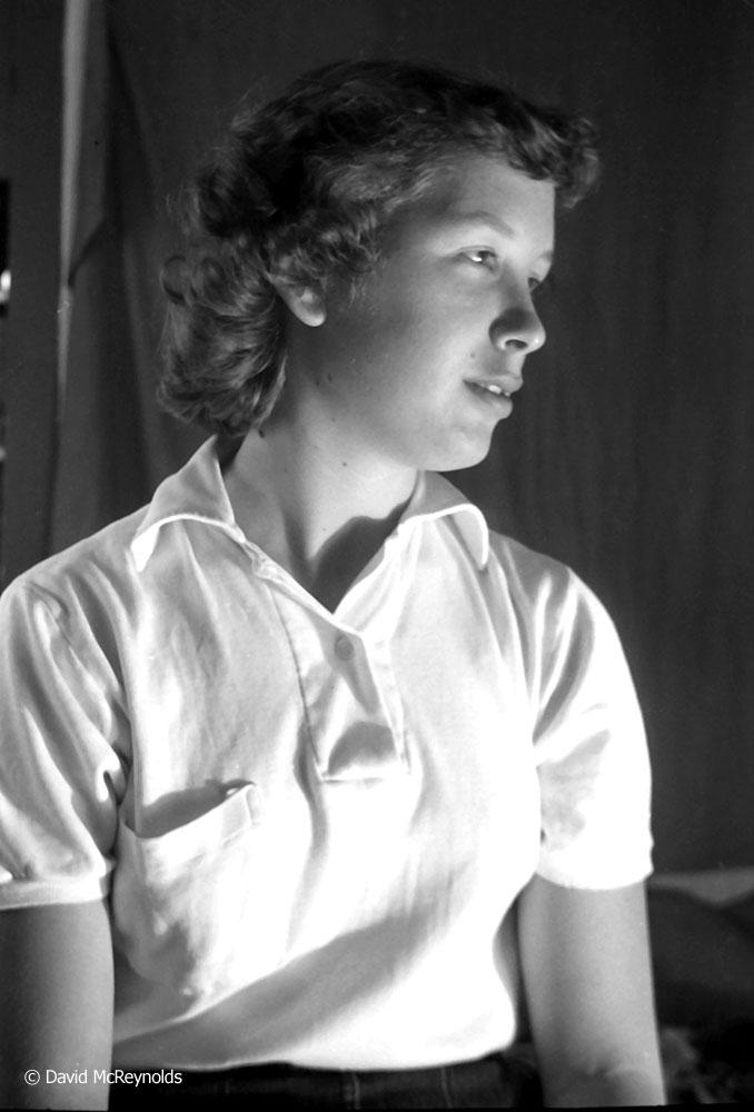 Sandy Pestaff, 1954.