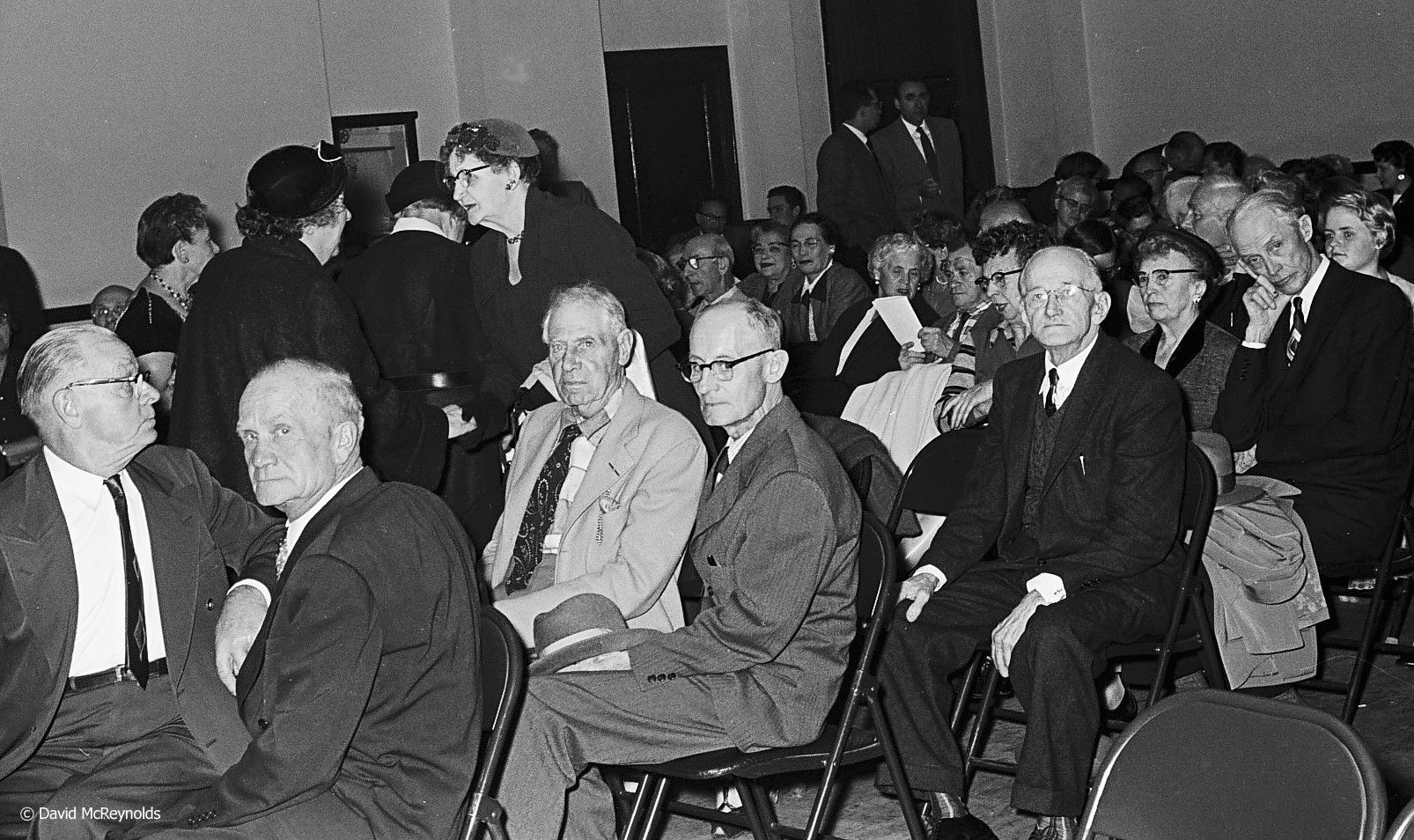 Some of the crowd at the centennial event in Los Angeles (before David moved to NYC). (55-24)