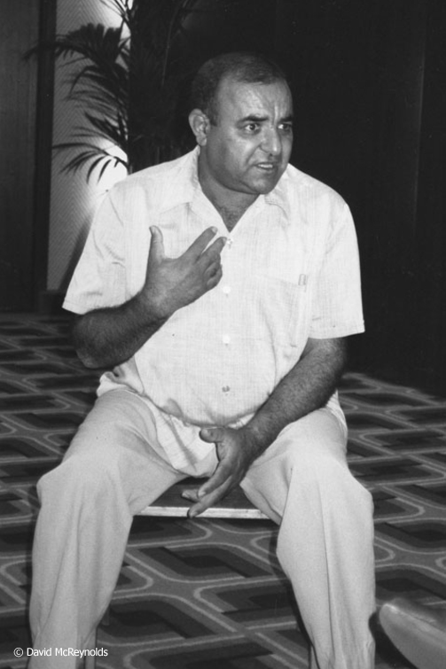 Sassi Salem Al-Hadj of the Libyan Human Rights Center and author of a 1988 book published in Libya opposing capital punishment.