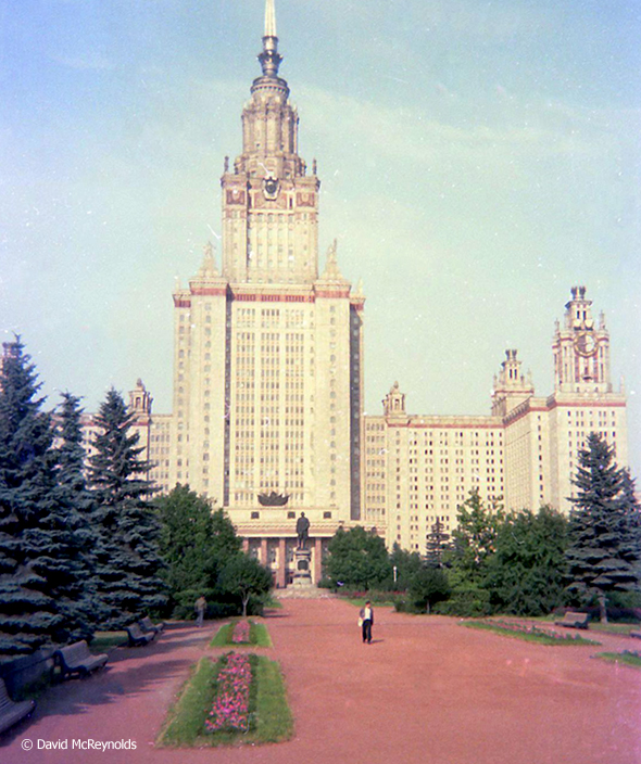 Moscow University: Even after their action, the Soviet government permitted the group to meet with students at the university.