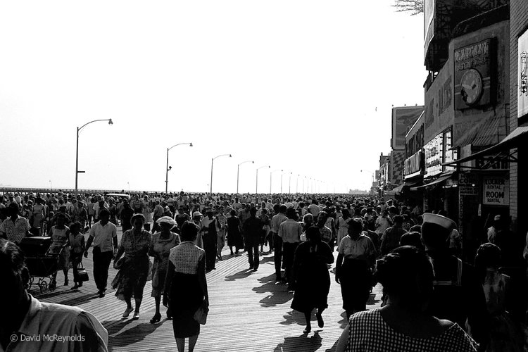 Coney Island, August 1957.