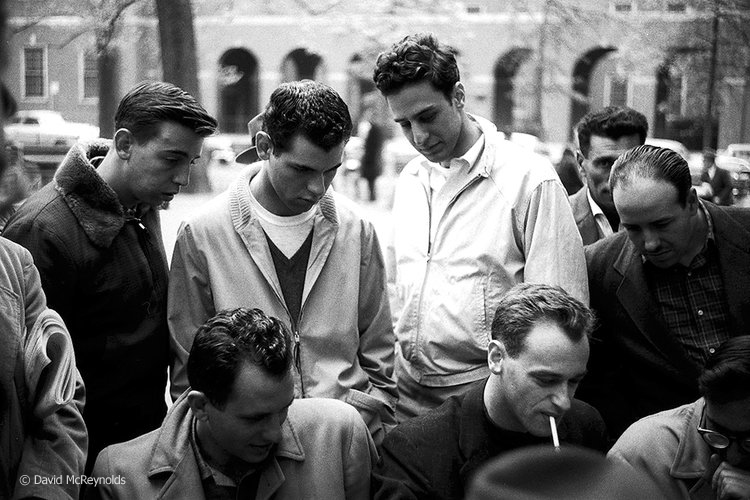 NYC, April, 1957. (57-9)