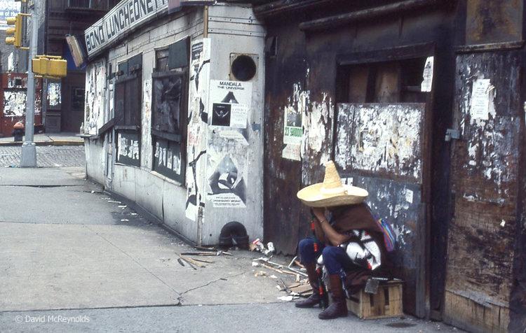 Lafayette Street, July 1978.