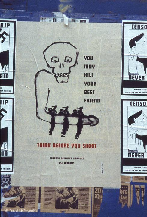 Use condoms, November 1990