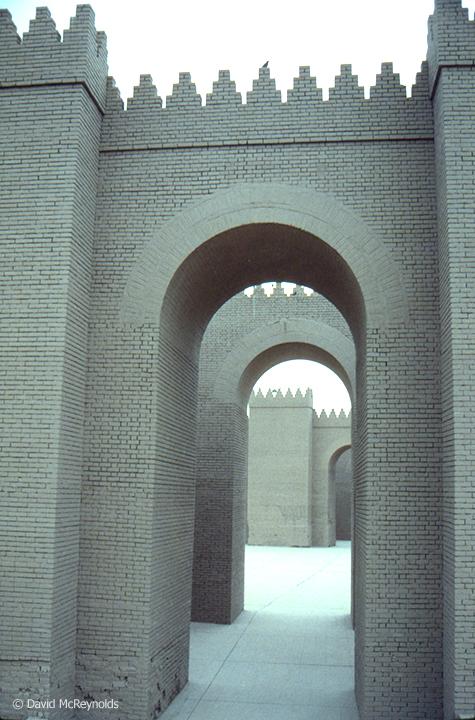 City Walls, Babylon. October 1990.