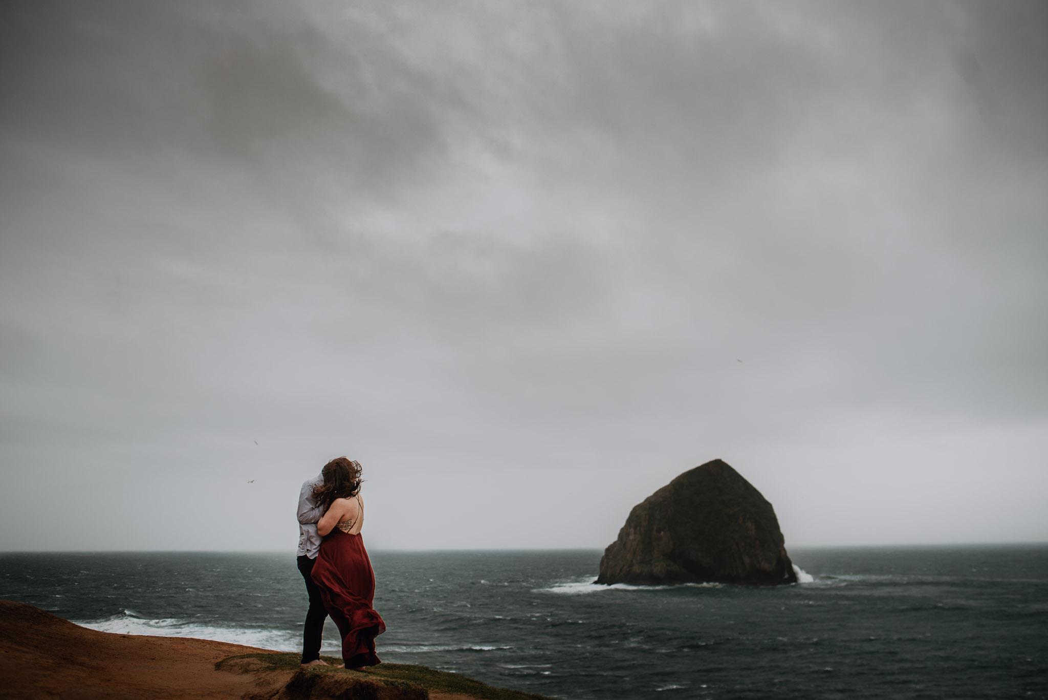 Arianna & Bryan Engagement - Coast of Oregon
