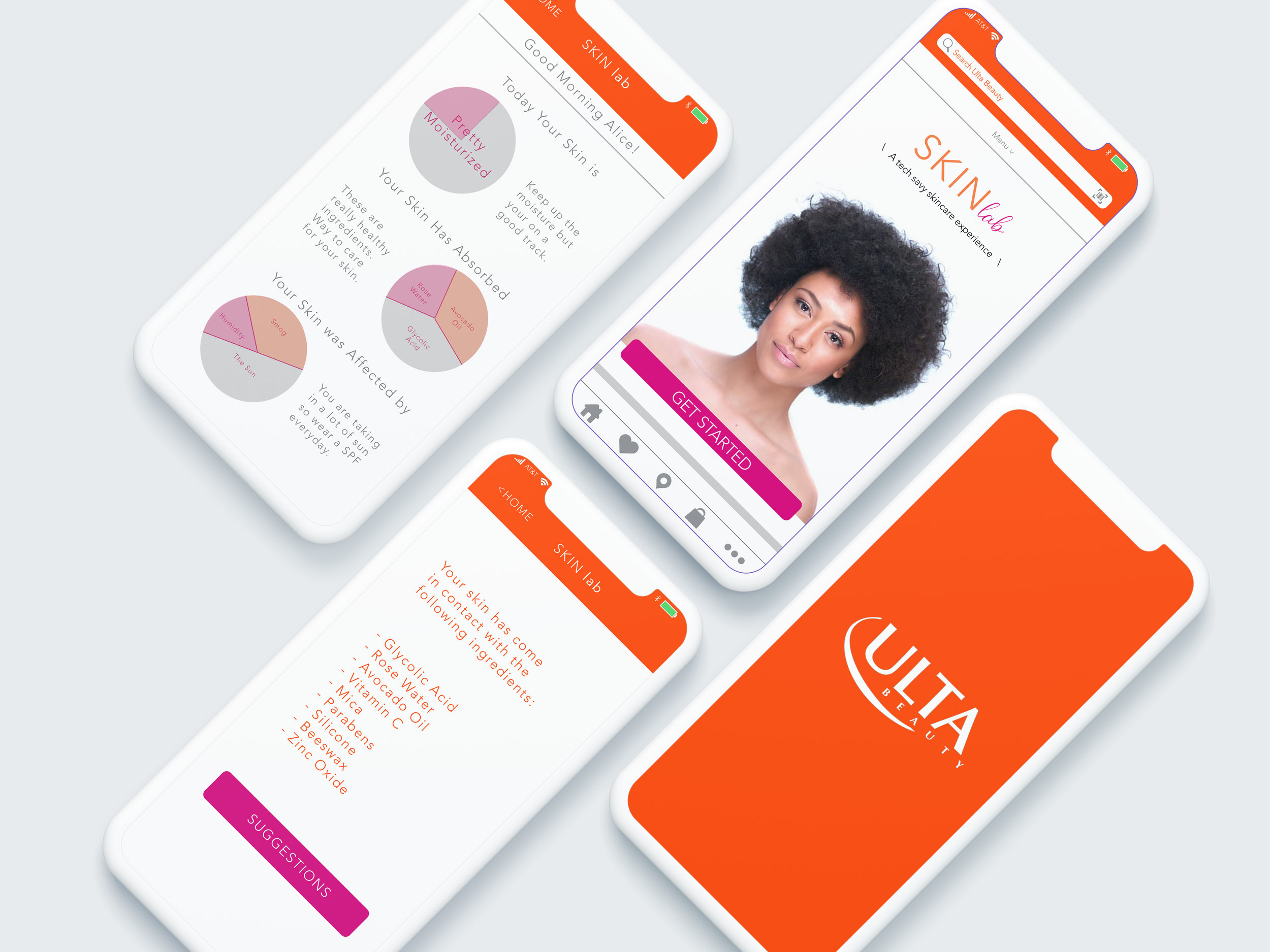 ULTA Beauty  a new product & app to revitalise this luxury drugstore brand. we got ya'll your own mini dermatologist at home. ur welcome