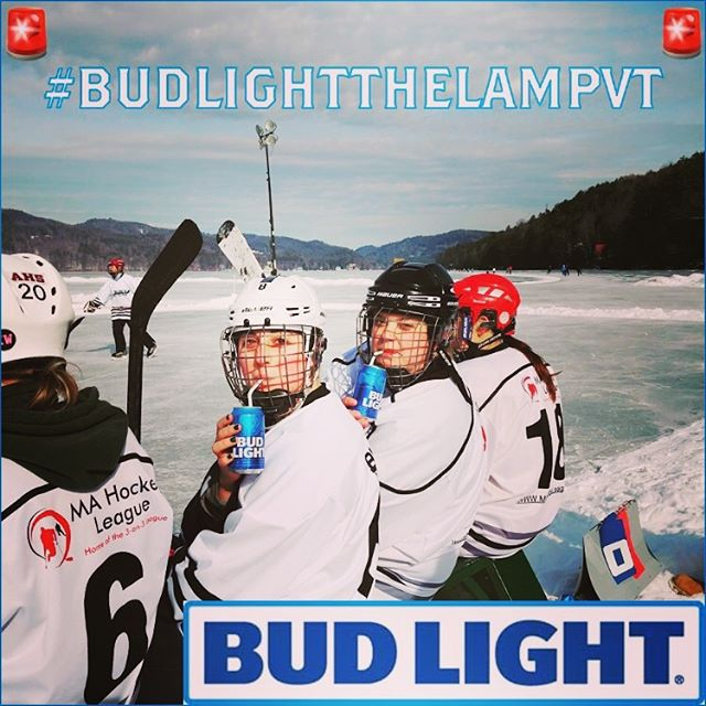 Just remember, it didn't happen unless it goes on Instagram. So get those IG accounts fired up for this year's tournament. And don't forget about our tourney hashtag  #budlightthelampvt. Proper hashtags are important. •🚨🍺🏒🍺🚨• #frostbitefaceoff2019 #frostbitefaceoff #budlight #pondhockey #outdoorhockey #budlightthelampvt