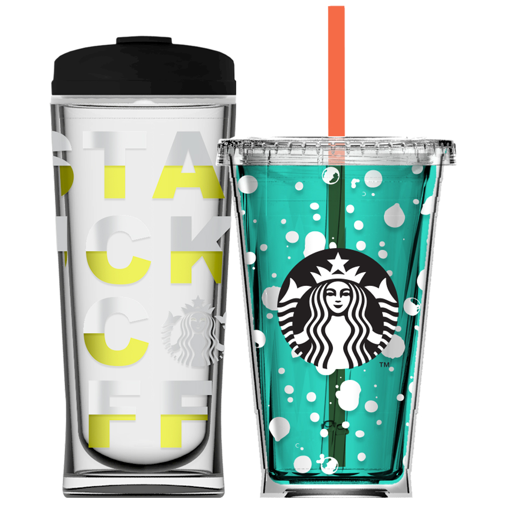 Starbucks Merchandise Design and Trend Forecasting  - Original merchandise graphics and trend forecastingfor Starbucks' global elevated, personalized coffee experience.