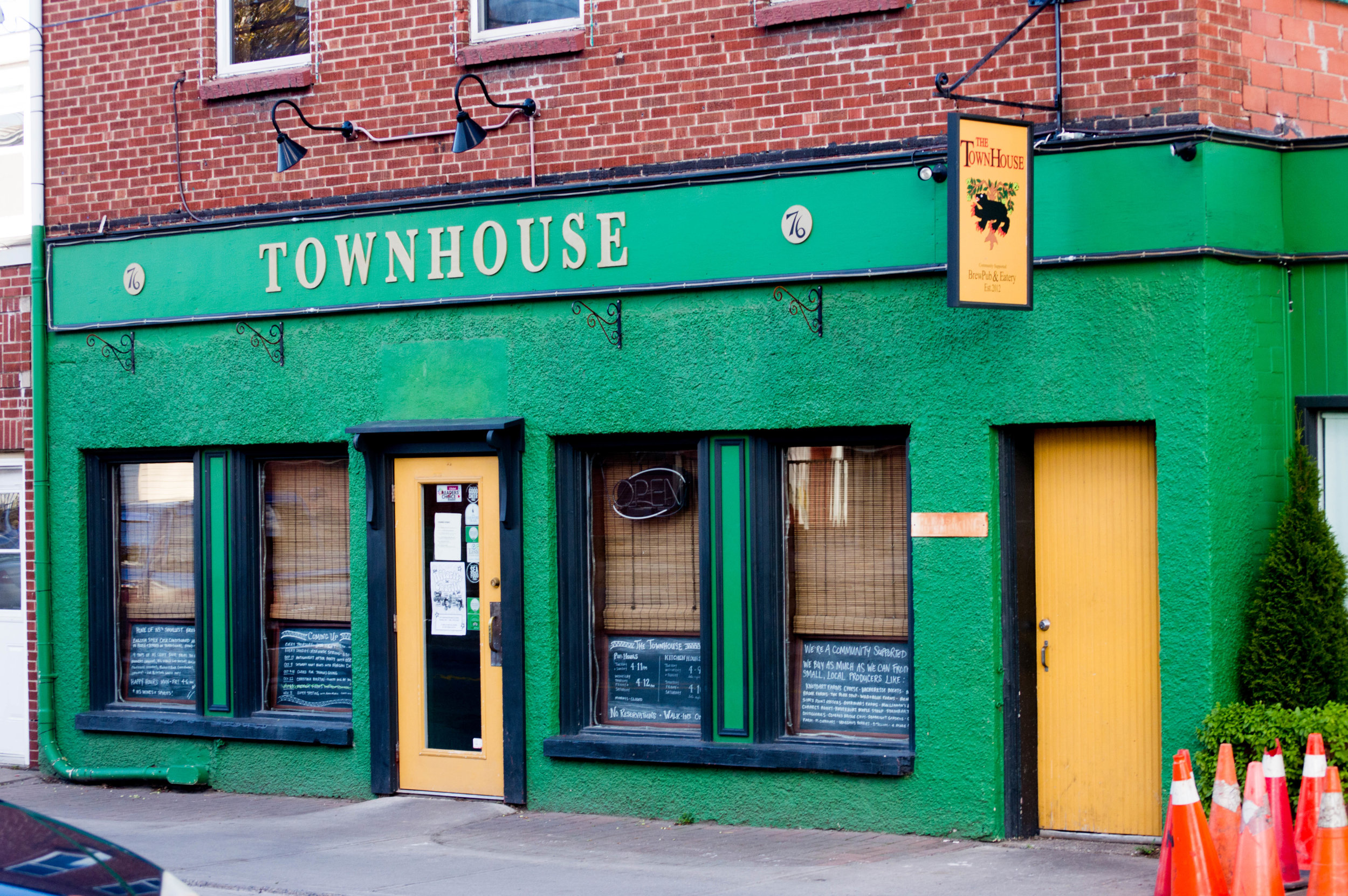 An outside view of the Townhouse. Photo courtesy of Jessica Fullerton