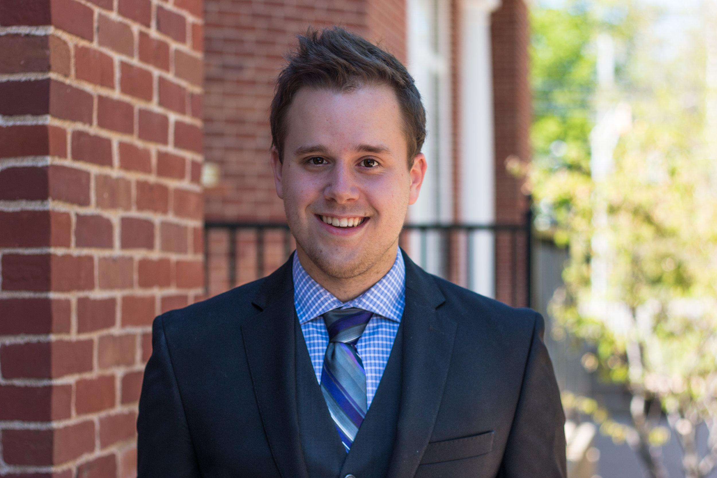 Current Vice-President Academic, Ryley Erickson  Photo: Devon Chisholm