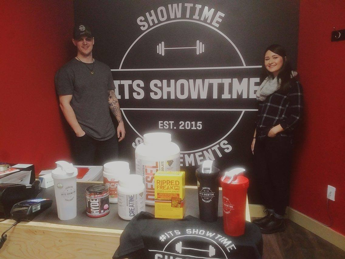 Showtime owners Curtis Colbary and Taylor Olsen. Photo credit: Marek Viezner.