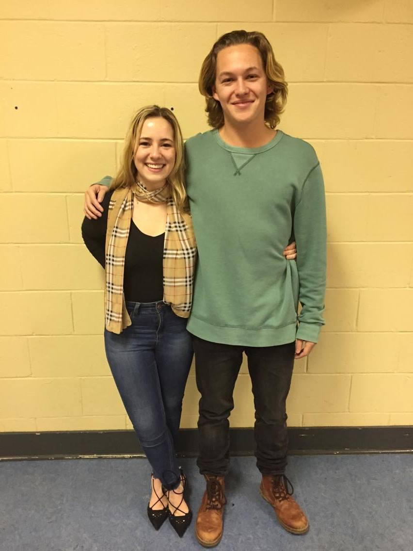 Annie Sirois and Patrick Panet-Raymond. Photo: Emily Keenan.