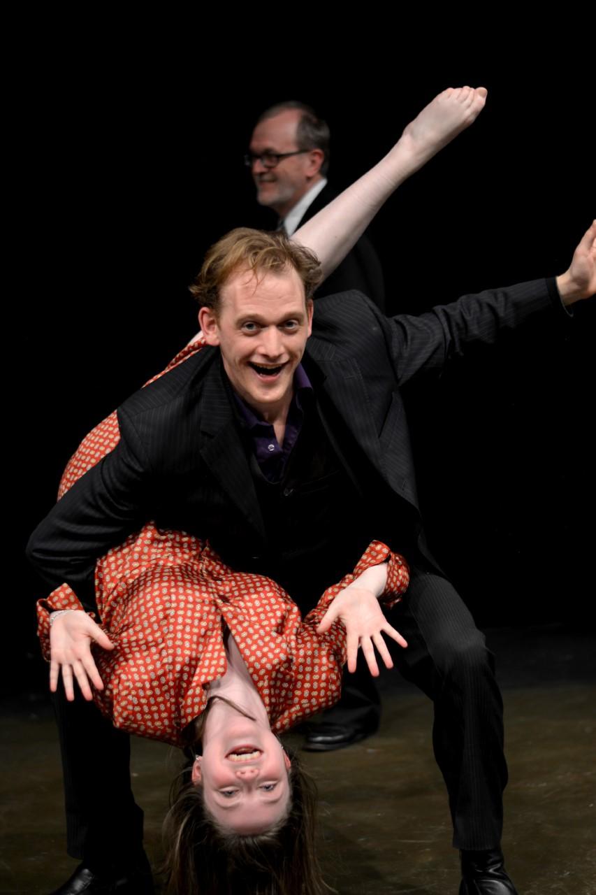 Geordie Hemlow and Emma Vickers as Orpheus and Eurydice. Photo: Peter Murphy